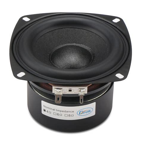 woofer speaker antimagnetic loudspeaker    ohms