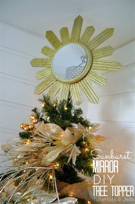 diy sunburst tree topper u create