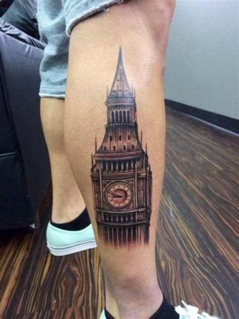big top tattoo big ben realistic by last best