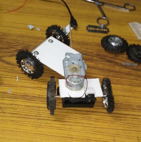 Go Robot Car how to make a robotic car with stearing at home
