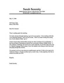 Cover Letter Example Of Teacher Best Cover Letter Examples For Teachers Writing Resume