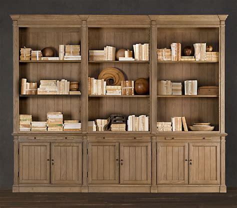 custom built headboard storage shelf units library wall