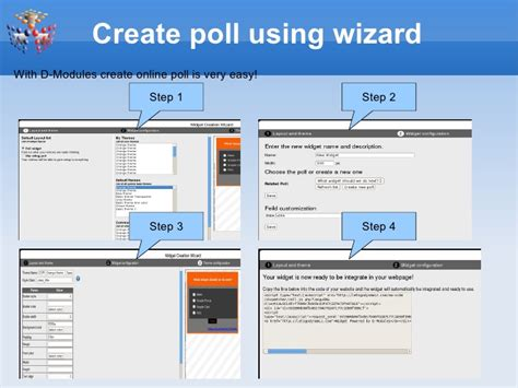 create a building online create free online poll widget