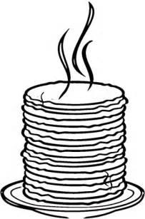 Coloriage  Pile De Pancakes Coloriages &224 Imprimer Gratuits sketch template