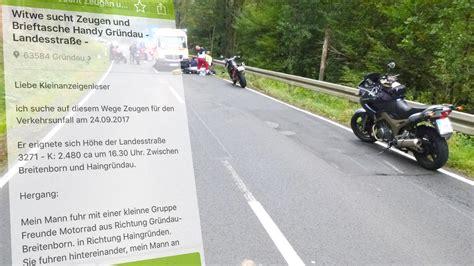 Ebay Unfall Motorrad nach motorrad unfall witwe sucht per ebay anzeige nach