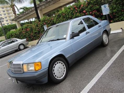 repair anti lock braking 1991 mercedes benz w201 electronic valve timing buy used 1991 mb 190e low miles clean carfax garage kept florida books records immaculate in