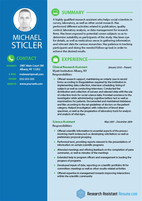 social science resume format social science research assistants resume