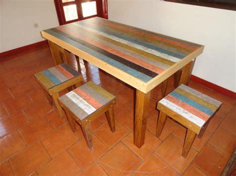 mesa con taburetes mesa de comedor con taburetes a juego muebles de la granja