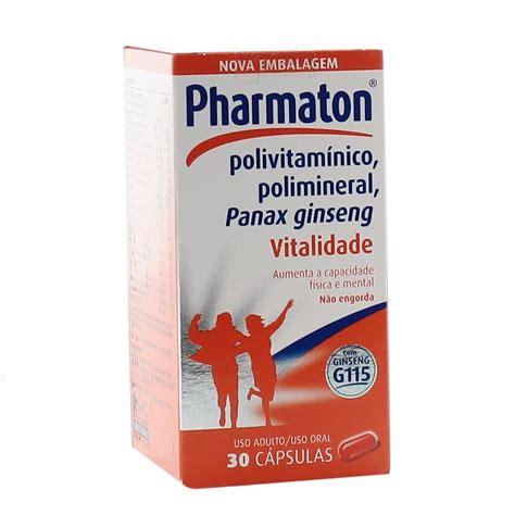 Pharmaton Ginseng polivitam 237 nico pharmaton 30 c 225 psulas cont 233 m ginseng