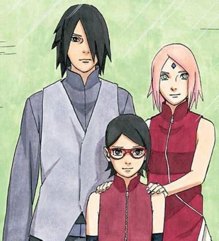 sarada sasuke uchiha and sakura family sarada uchiha sasuke uchiha naruto and naruto uzumaki