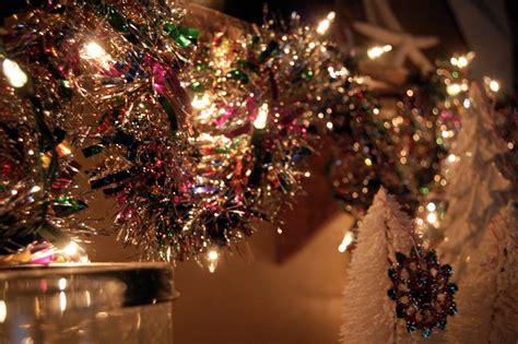 tinsel light garland jaderbomb