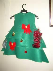 trajes de arboles echos en fomixs arbol de navidad dise 241 os de la costurera