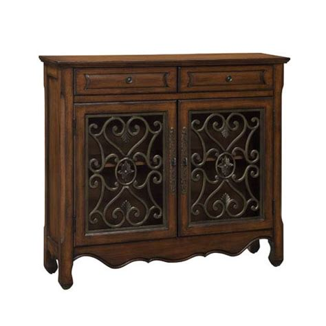 accent chests cabinets rustic brown two door cabinet coast to coast imports