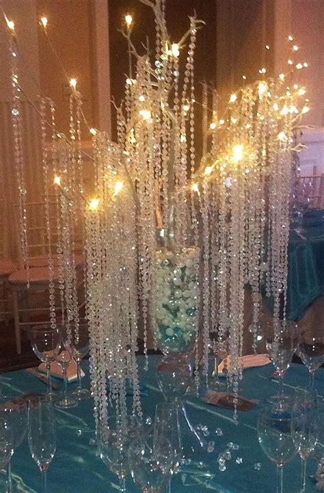 Crystal Tree Wedding Centerpiece   Weddings and Special