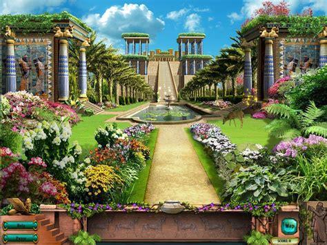 Babylonian Gardens by Hanging Gardens Of Babylon Wallpapers Wallpaper Cave