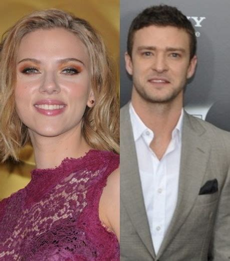Johansson And Justin Timberlake Are Totally Doing It by Photo Johansson Et Justin Timberlake Ont 233 T 233