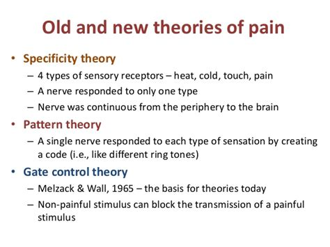 Pattern Theory Of Pain Pdf | module 3 pain