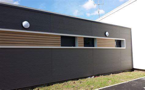 Habillage Facade by Habillage De Fa 231 Ade En Bois Composite Voie Innovant