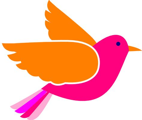 birds clipart pink birds clip at clker vector clip