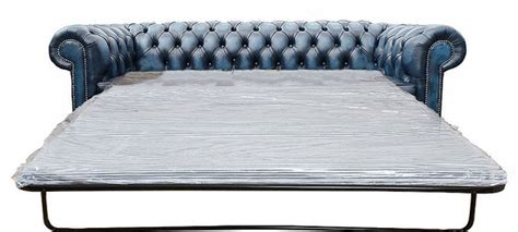 davenport 2 seater sofa bed chesterfield 3 seater sofa bed antique blue