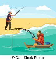 sedere a pesca mosca verga pescatore fiume vista laterale mosca