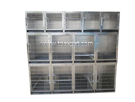 steel kennel china ka 508 stainless steel professional modular kennels system manufacturers