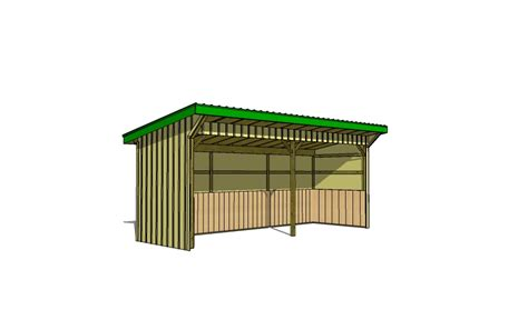 8x12 run in shed plans icreatables