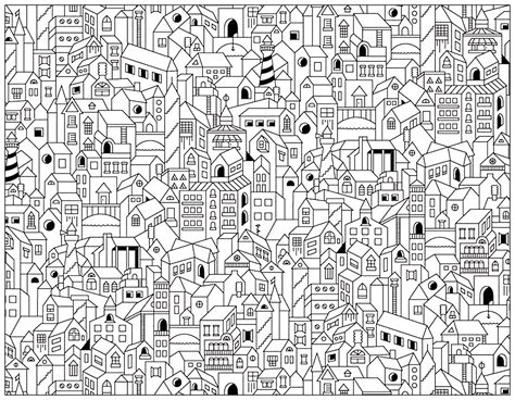coloring pages for adults architecture city buildings architecture and living coloring pages