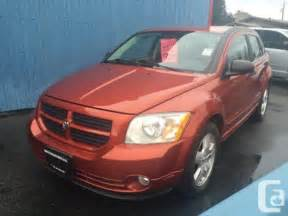 Dodge Caliber Used Used 2007 Dodge Caliber Sxt For Sale In Abbotsford