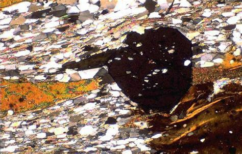 garnet thin section dms mineral of the month page september 2007