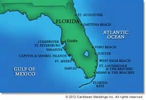 map of florida and caribbean florida wedding venue florida honeymoon and wedding