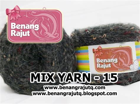 Benang Mix benang rajut limited mix fancy yarn 15 benangrajutq