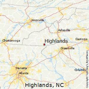 best places to live in highlands carolina