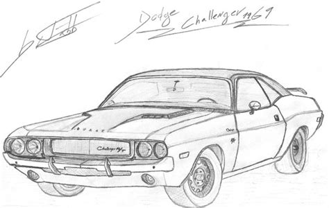 how to draw a dodge challenger drawingforall net dodge challenger 1969 by fx2b on deviantart