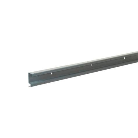 Closetmaid Rail Shop Closetmaid Shelftrack Maximum Load 40 In Silver Hang
