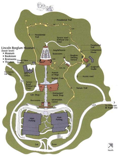 mt rushmore map mount rushmore maps
