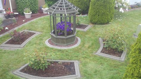 Decorative Landscape Edging by Fresh Curb Appeal Landscaping Ideas 7246 Lawn And