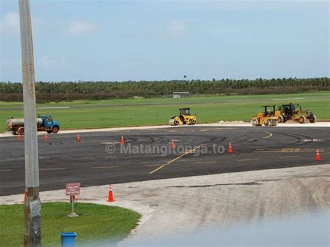 fußbank fua amotu airport ready to land bigger planes in april