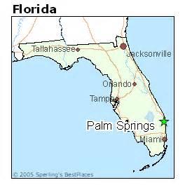 where is palm springs florida on a map best places to live in palm springs florida