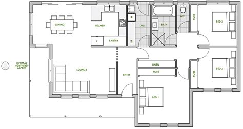 energy efficient small house floor plans flinders new home design energy efficient house plans