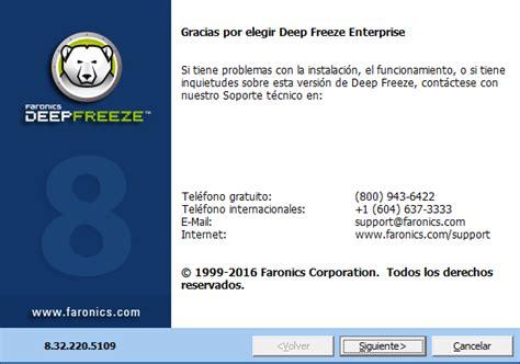 deep freeze full version free download xp deep freeze enterprise 8 32 220 5109 final full keygen