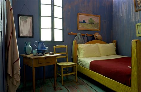 van goghs bedroom visiting van gogh s bedroom the standard edition