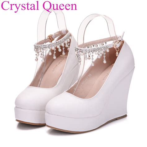 shoe wedges for fashion white wedges pumps shoes platform wedges shoes for