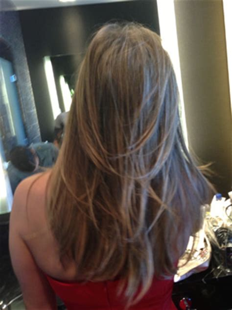 rachel haircut pictures back view back view of the rachel haircut jennifer aniston cerimonia