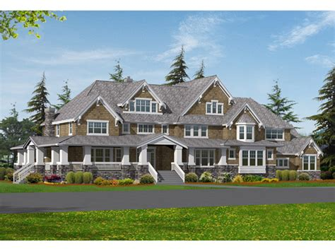 Large Craftsman House Plans by Craftsman House Plans Cottage House Plans