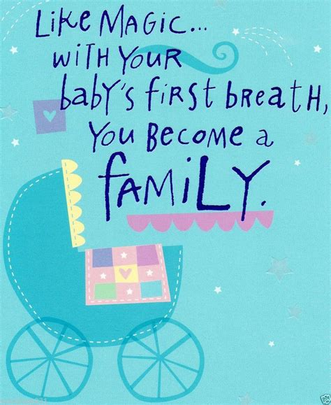 Baby Shower Greeting Card Quotes