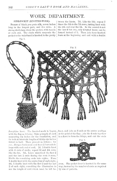 Macrame Articles - digital archive of documents related to macrame