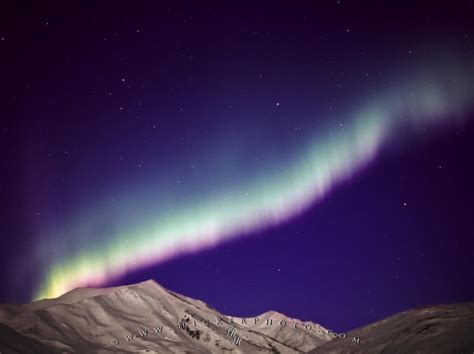 Northern Lights Brooks Range Mountains Alaska Photo The Range Lights