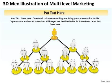 templates for mlm business multi level marketing diagram images