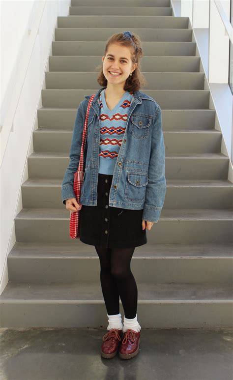 outfit  campus  barnard college styling tips